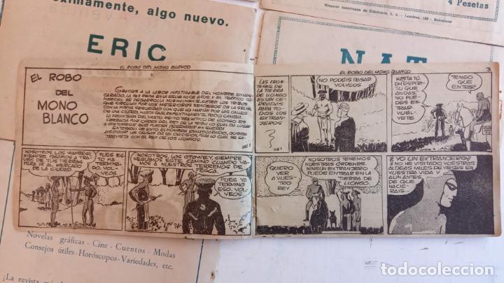 Tebeos: EL HOMBRE ENMASCARADO ORIGINAL AÑO 1952 - COMPLETA 1 AL 38 - VER NUMEROSAS IMÁGENES - Foto 21 - 190479470