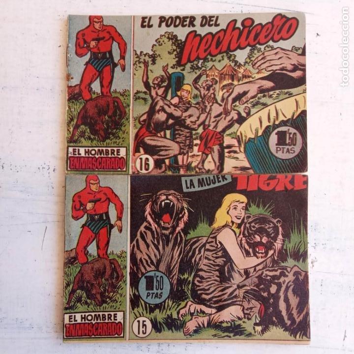 Tebeos: EL HOMBRE ENMASCARADO ORIGINAL AÑO 1952 - COMPLETA 1 AL 38 - VER NUMEROSAS IMÁGENES - Foto 28 - 190479470