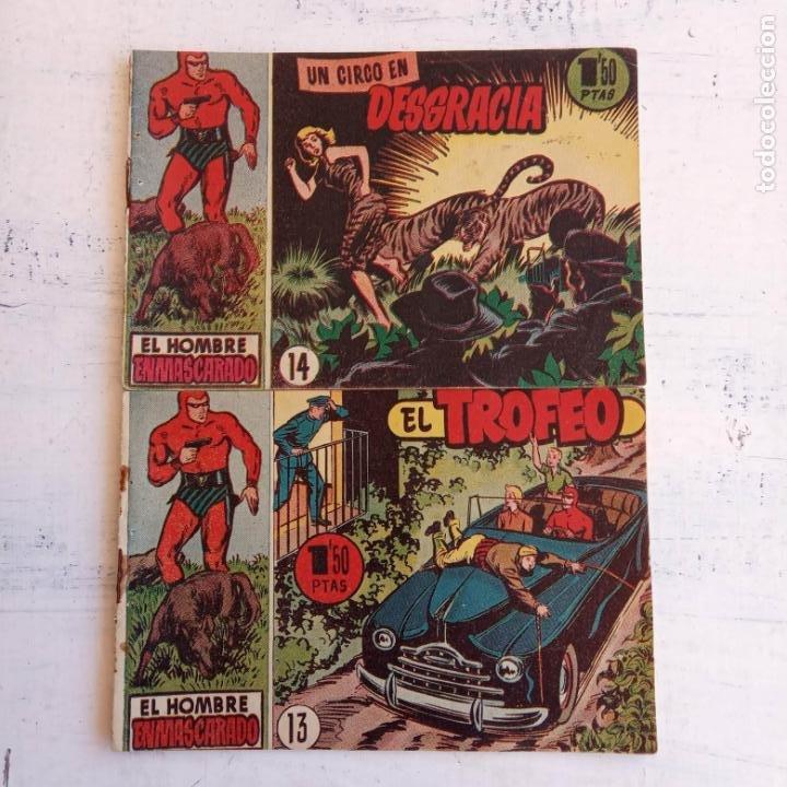 Tebeos: EL HOMBRE ENMASCARADO ORIGINAL AÑO 1952 - COMPLETA 1 AL 38 - VER NUMEROSAS IMÁGENES - Foto 30 - 190479470