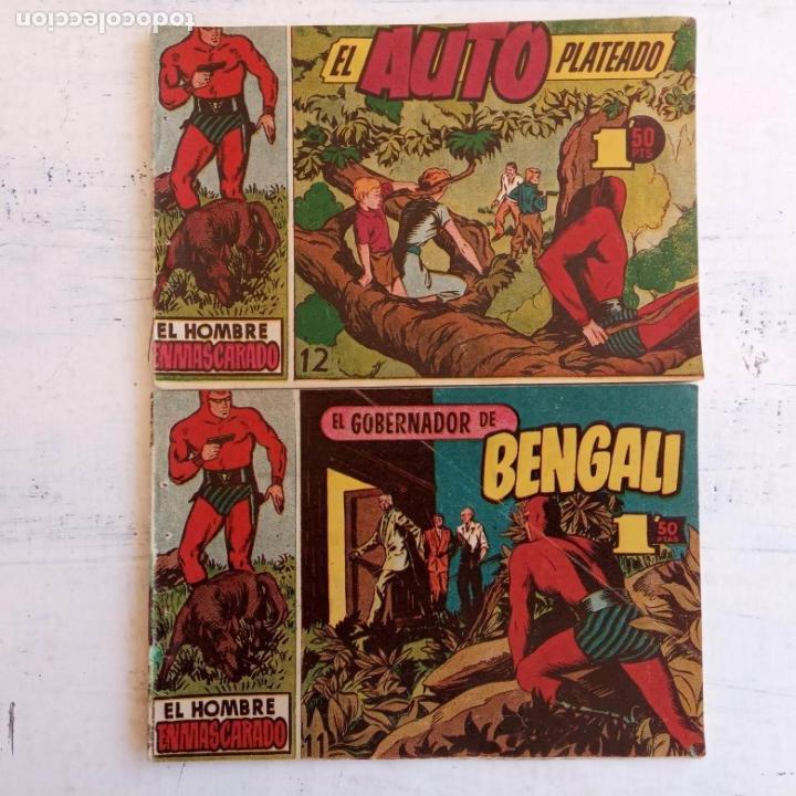 Tebeos: EL HOMBRE ENMASCARADO ORIGINAL AÑO 1952 - COMPLETA 1 AL 38 - VER NUMEROSAS IMÁGENES - Foto 32 - 190479470
