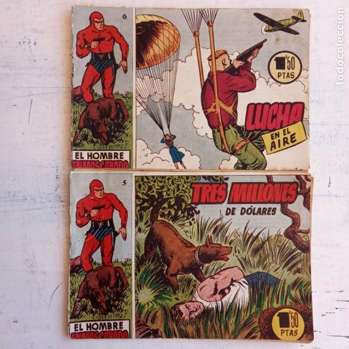 Tebeos: EL HOMBRE ENMASCARADO ORIGINAL AÑO 1952 - COMPLETA 1 AL 38 - VER NUMEROSAS IMÁGENES - Foto 36 - 190479470