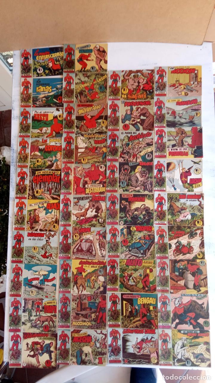 EL HOMBRE ENMASCARADO ORIGINAL AÑO 1952 - COMPLETA 1 AL 38 - VER NUMEROSAS IMÁGENES (Tebeos y Comics - Hispano Americana - Hombre Enmascarado)