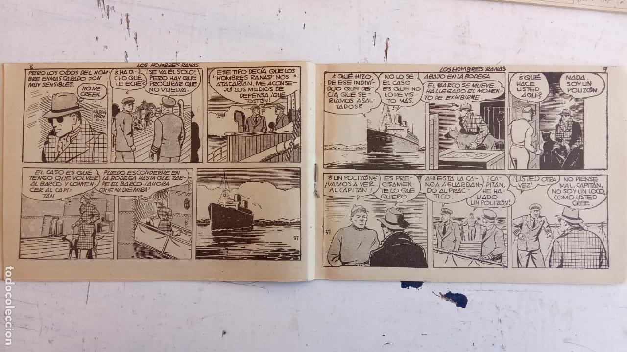 Tebeos: EL HOMBRE ENMASCARADO ORIGINAL AÑO 1952 - COMPLETA 1 AL 38 - VER NUMEROSAS IMÁGENES - Foto 39 - 190479470