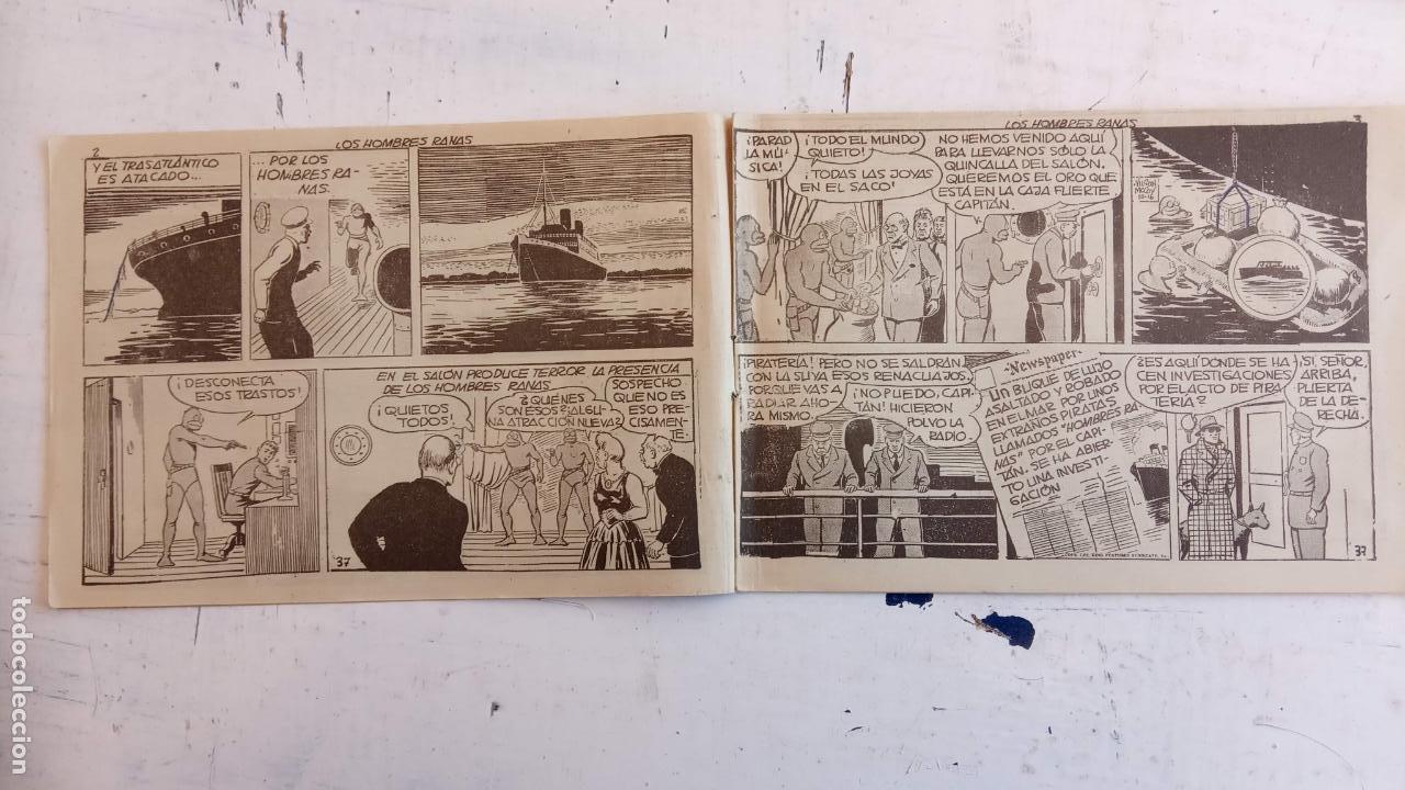 Tebeos: EL HOMBRE ENMASCARADO ORIGINAL AÑO 1952 - COMPLETA 1 AL 38 - VER NUMEROSAS IMÁGENES - Foto 40 - 190479470