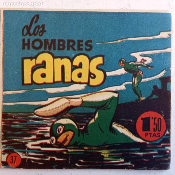 Tebeos: EL HOMBRE ENMASCARADO ORIGINAL AÑO 1952 - COMPLETA 1 AL 38 - VER NUMEROSAS IMÁGENES - Foto 44 - 190479470
