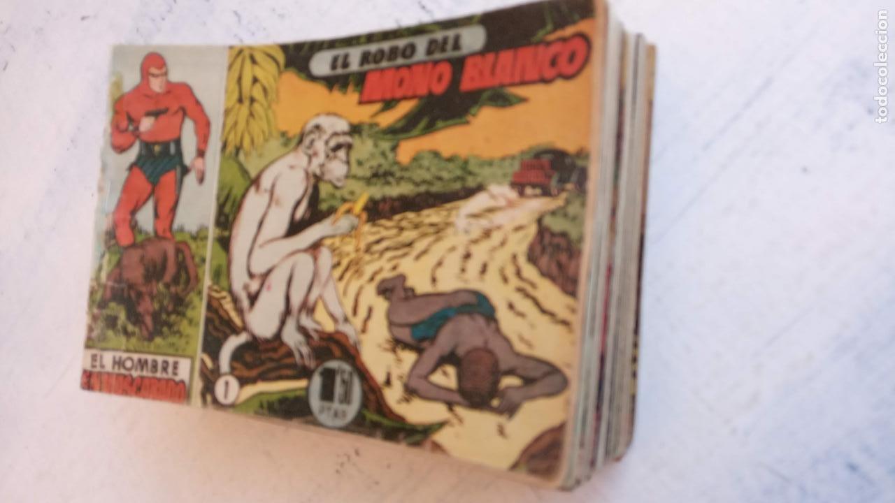 Tebeos: EL HOMBRE ENMASCARADO ORIGINAL AÑO 1952 - COMPLETA 1 AL 38 - VER NUMEROSAS IMÁGENES - Foto 47 - 190479470