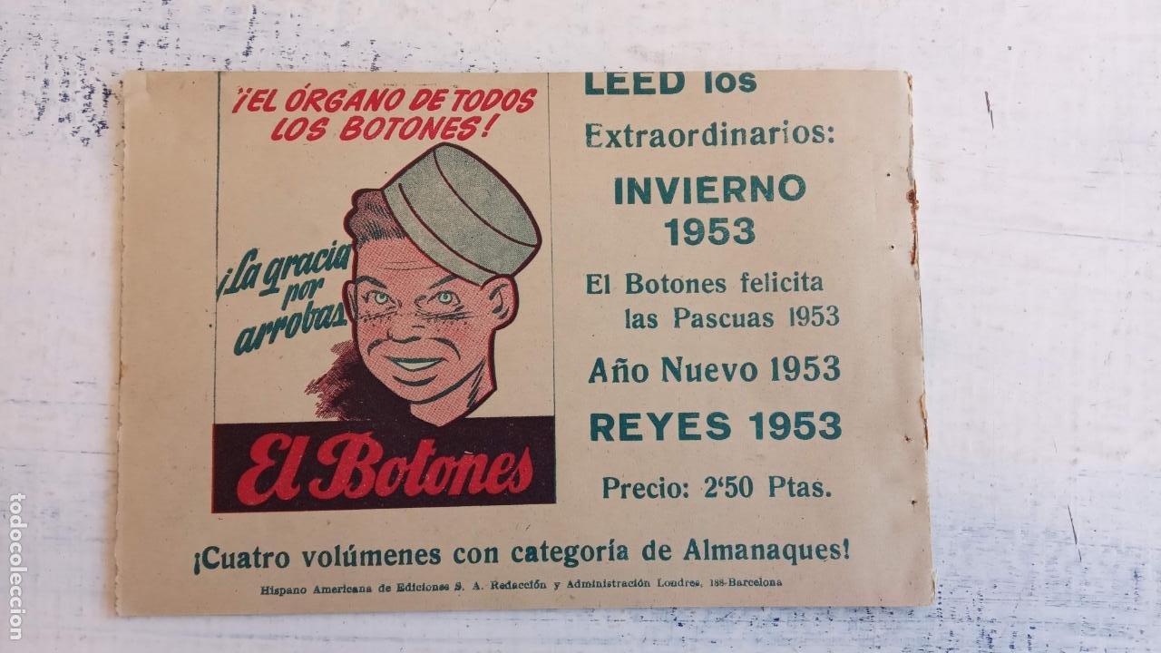 Tebeos: EL HOMBRE ENMASCARADO ORIGINAL AÑO 1952 - COMPLETA 1 AL 38 - VER NUMEROSAS IMÁGENES - Foto 53 - 190479470