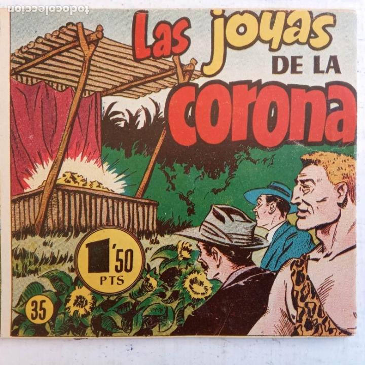 Tebeos: EL HOMBRE ENMASCARADO ORIGINAL AÑO 1952 - COMPLETA 1 AL 38 - VER NUMEROSAS IMÁGENES - Foto 54 - 190479470