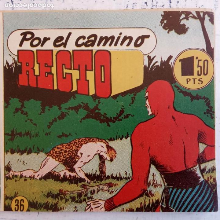 Tebeos: EL HOMBRE ENMASCARADO ORIGINAL AÑO 1952 - COMPLETA 1 AL 38 - VER NUMEROSAS IMÁGENES - Foto 55 - 190479470