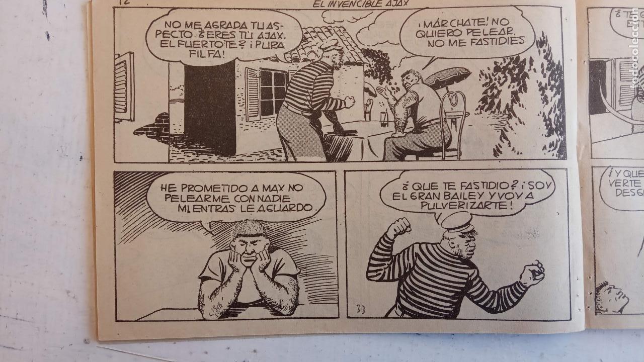 Tebeos: EL HOMBRE ENMASCARADO ORIGINAL AÑO 1952 - COMPLETA 1 AL 38 - VER NUMEROSAS IMÁGENES - Foto 59 - 190479470
