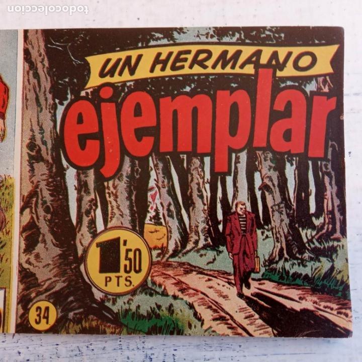 Tebeos: EL HOMBRE ENMASCARADO ORIGINAL AÑO 1952 - COMPLETA 1 AL 38 - VER NUMEROSAS IMÁGENES - Foto 64 - 190479470