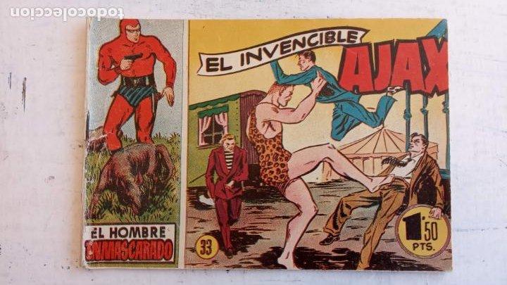 Tebeos: EL HOMBRE ENMASCARADO ORIGINAL AÑO 1952 - COMPLETA 1 AL 38 - VER NUMEROSAS IMÁGENES - Foto 66 - 190479470