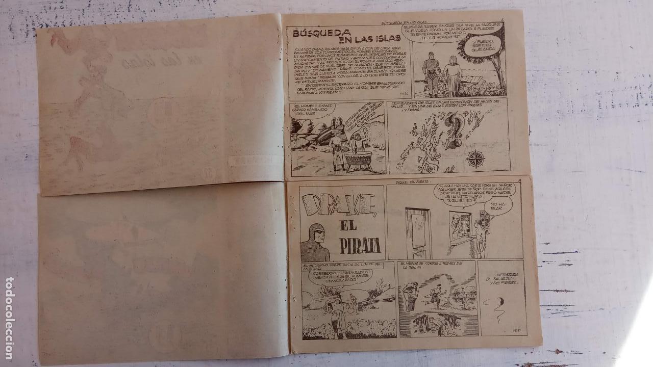 Tebeos: EL HOMBRE ENMASCARADO ORIGINAL AÑO 1952 - COMPLETA 1 AL 38 - VER NUMEROSAS IMÁGENES - Foto 68 - 190479470