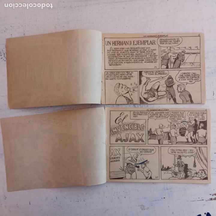 Tebeos: EL HOMBRE ENMASCARADO ORIGINAL AÑO 1952 - COMPLETA 1 AL 38 - VER NUMEROSAS IMÁGENES - Foto 74 - 190479470