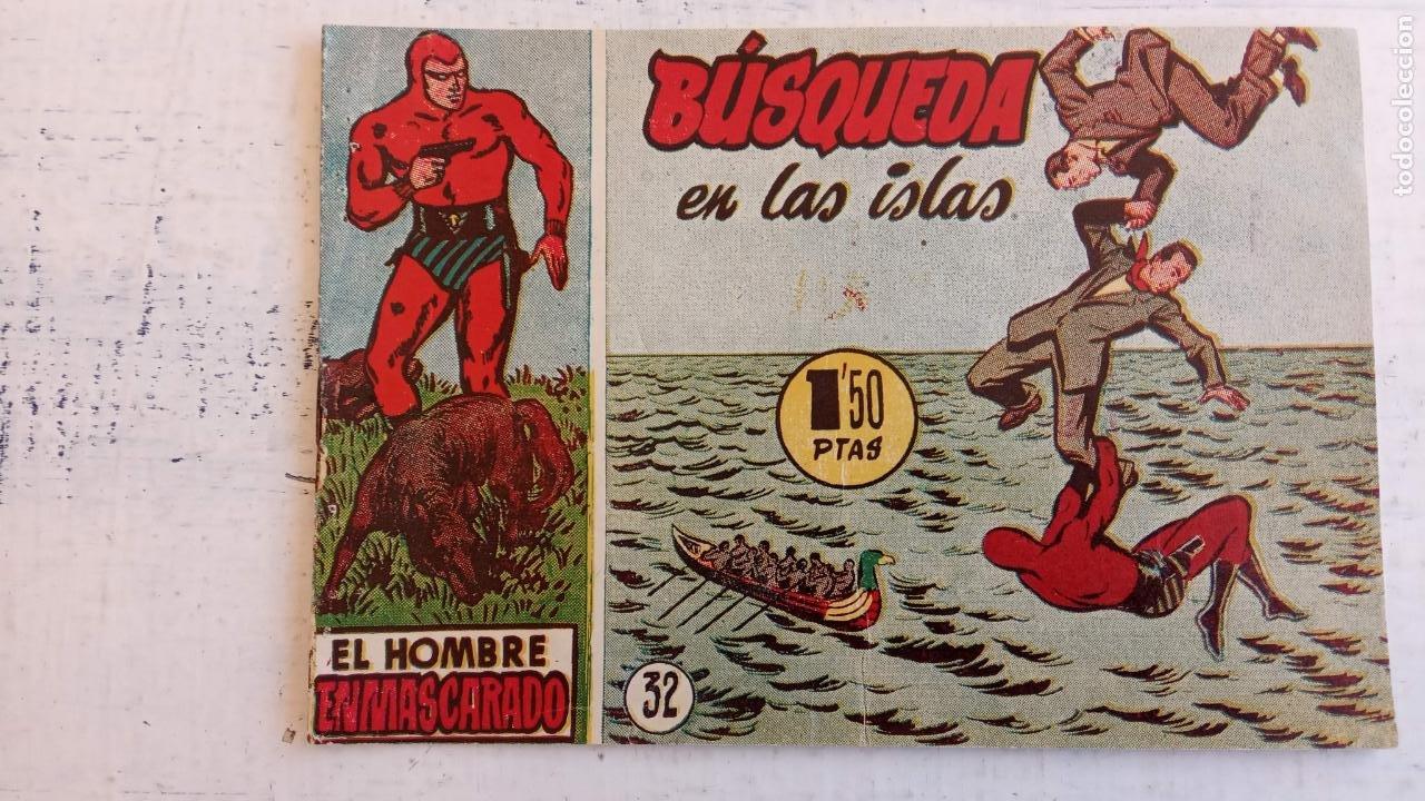 Tebeos: EL HOMBRE ENMASCARADO ORIGINAL AÑO 1952 - COMPLETA 1 AL 38 - VER NUMEROSAS IMÁGENES - Foto 75 - 190479470