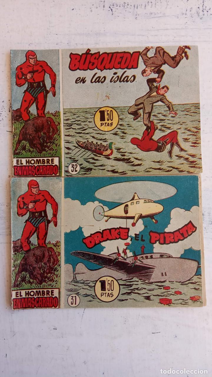 Tebeos: EL HOMBRE ENMASCARADO ORIGINAL AÑO 1952 - COMPLETA 1 AL 38 - VER NUMEROSAS IMÁGENES - Foto 76 - 190479470