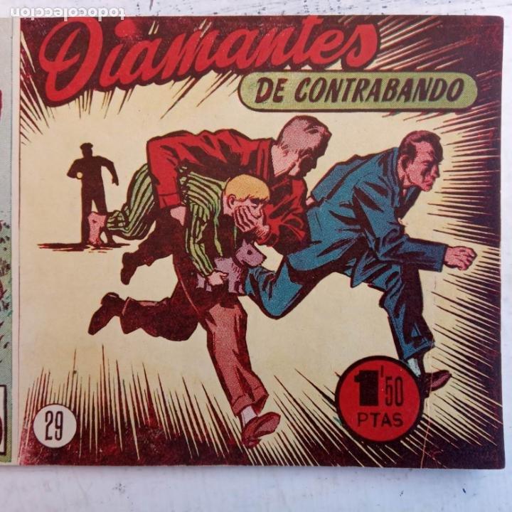Tebeos: EL HOMBRE ENMASCARADO ORIGINAL AÑO 1952 - COMPLETA 1 AL 38 - VER NUMEROSAS IMÁGENES - Foto 79 - 190479470