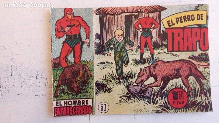 Tebeos: EL HOMBRE ENMASCARADO ORIGINAL AÑO 1952 - COMPLETA 1 AL 38 - VER NUMEROSAS IMÁGENES - Foto 81 - 190479470
