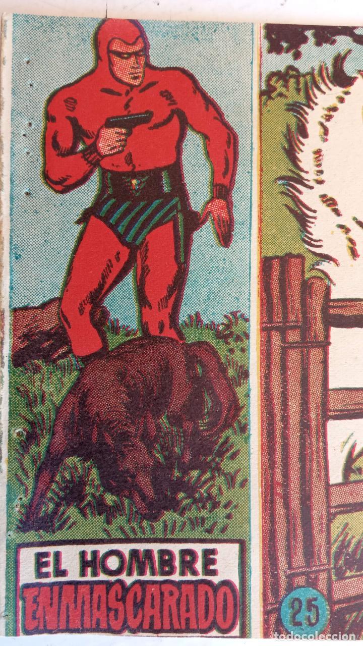 Tebeos: EL HOMBRE ENMASCARADO ORIGINAL AÑO 1952 - COMPLETA 1 AL 38 - VER NUMEROSAS IMÁGENES - Foto 87 - 190479470