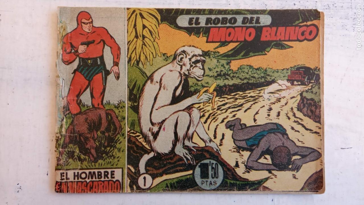 Tebeos: EL HOMBRE ENMASCARADO ORIGINAL AÑO 1952 - COMPLETA 1 AL 38 - VER NUMEROSAS IMÁGENES - Foto 94 - 190479470
