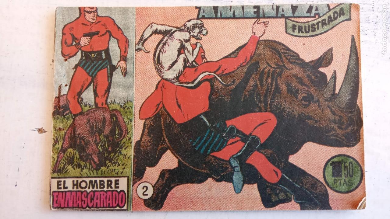 Tebeos: EL HOMBRE ENMASCARADO ORIGINAL AÑO 1952 - COMPLETA 1 AL 38 - VER NUMEROSAS IMÁGENES - Foto 95 - 190479470