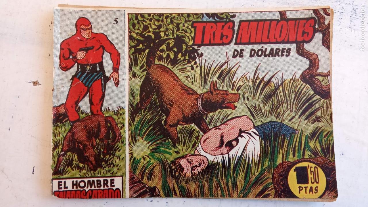 Tebeos: EL HOMBRE ENMASCARADO ORIGINAL AÑO 1952 - COMPLETA 1 AL 38 - VER NUMEROSAS IMÁGENES - Foto 102 - 190479470