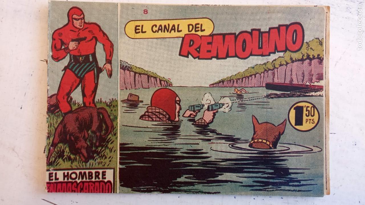 Tebeos: EL HOMBRE ENMASCARADO ORIGINAL AÑO 1952 - COMPLETA 1 AL 38 - VER NUMEROSAS IMÁGENES - Foto 106 - 190479470