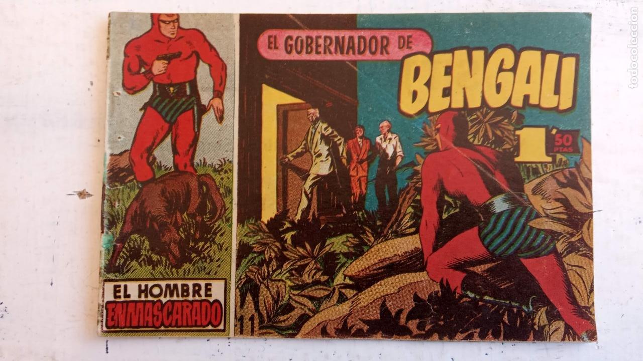 Tebeos: EL HOMBRE ENMASCARADO ORIGINAL AÑO 1952 - COMPLETA 1 AL 38 - VER NUMEROSAS IMÁGENES - Foto 112 - 190479470