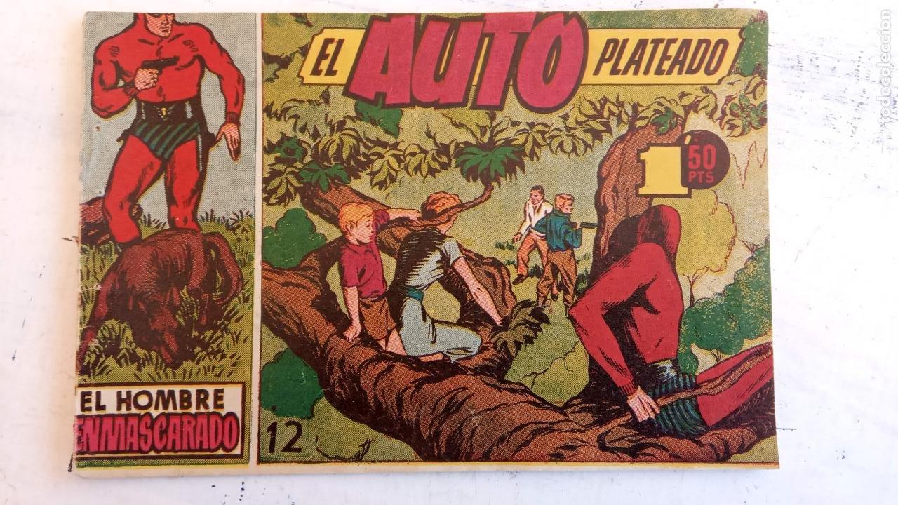 Tebeos: EL HOMBRE ENMASCARADO ORIGINAL AÑO 1952 - COMPLETA 1 AL 38 - VER NUMEROSAS IMÁGENES - Foto 113 - 190479470