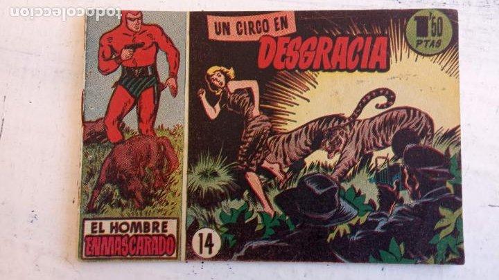 Tebeos: EL HOMBRE ENMASCARADO ORIGINAL AÑO 1952 - COMPLETA 1 AL 38 - VER NUMEROSAS IMÁGENES - Foto 118 - 190479470