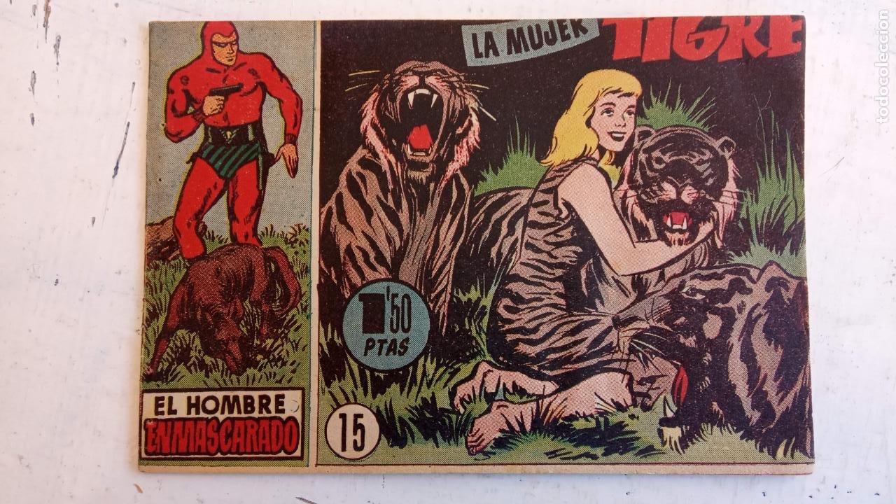 Tebeos: EL HOMBRE ENMASCARADO ORIGINAL AÑO 1952 - COMPLETA 1 AL 38 - VER NUMEROSAS IMÁGENES - Foto 120 - 190479470