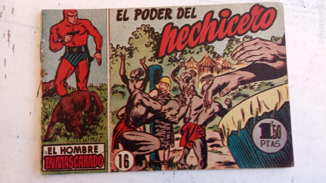 Tebeos: EL HOMBRE ENMASCARADO ORIGINAL AÑO 1952 - COMPLETA 1 AL 38 - VER NUMEROSAS IMÁGENES - Foto 121 - 190479470