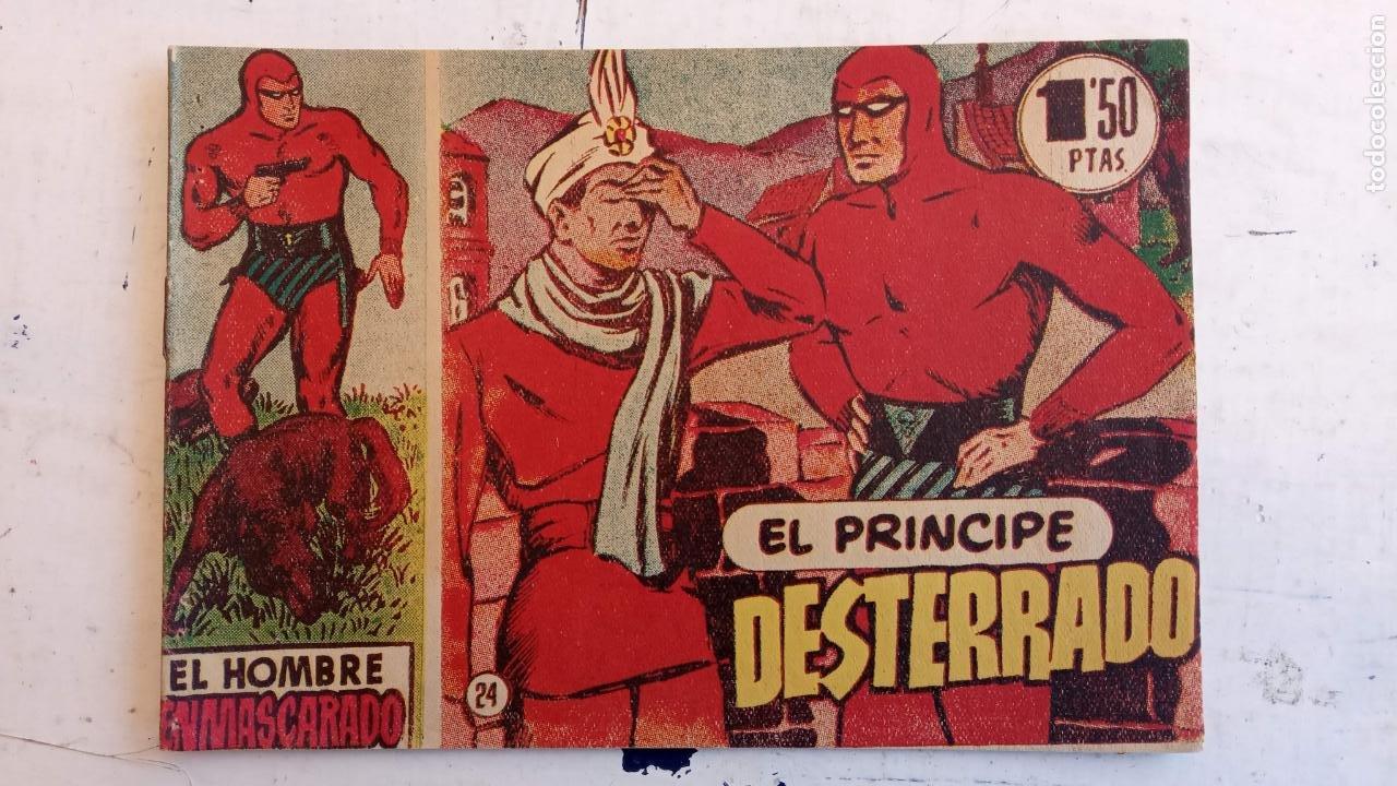 Tebeos: EL HOMBRE ENMASCARADO ORIGINAL AÑO 1952 - COMPLETA 1 AL 38 - VER NUMEROSAS IMÁGENES - Foto 129 - 190479470