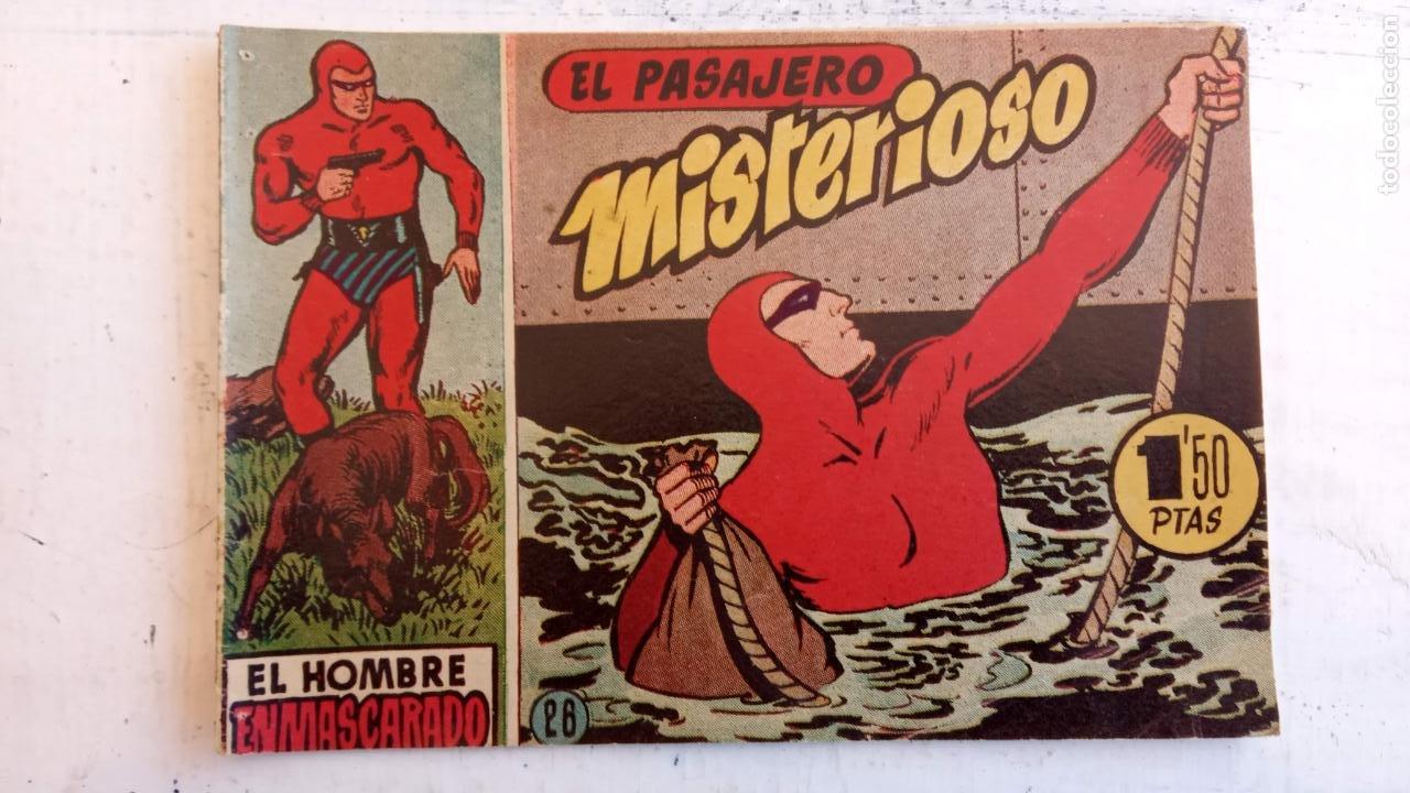 Tebeos: EL HOMBRE ENMASCARADO ORIGINAL AÑO 1952 - COMPLETA 1 AL 38 - VER NUMEROSAS IMÁGENES - Foto 131 - 190479470