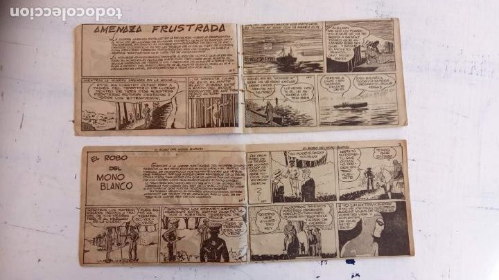 Tebeos: EL HOMBRE ENMASCARADO ORIGINAL AÑO 1952 - COMPLETA 1 AL 38 - VER NUMEROSAS IMÁGENES - Foto 137 - 190479470