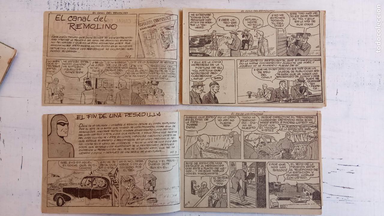 Tebeos: EL HOMBRE ENMASCARADO ORIGINAL AÑO 1952 - COMPLETA 1 AL 38 - VER NUMEROSAS IMÁGENES - Foto 139 - 190479470
