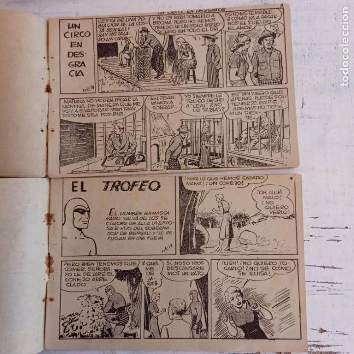 Tebeos: EL HOMBRE ENMASCARADO ORIGINAL AÑO 1952 - COMPLETA 1 AL 38 - VER NUMEROSAS IMÁGENES - Foto 143 - 190479470