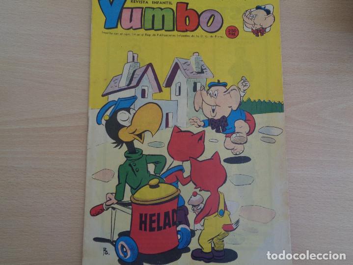 REVISTA INFANTIL YUMBO Nº 364. EDITA HISPANO AMERICANA 1959. BUEN ESTADO (Tebeos y Comics - Hispano Americana - Yumbo)