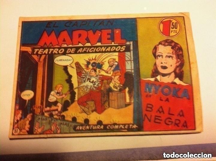 CAPITÁN MARVEL .Nº 51 (TEATRO DE AFICIONADOS) - MUY BIEN (Tebeos y Comics - Hispano Americana - Capitán Marvel)