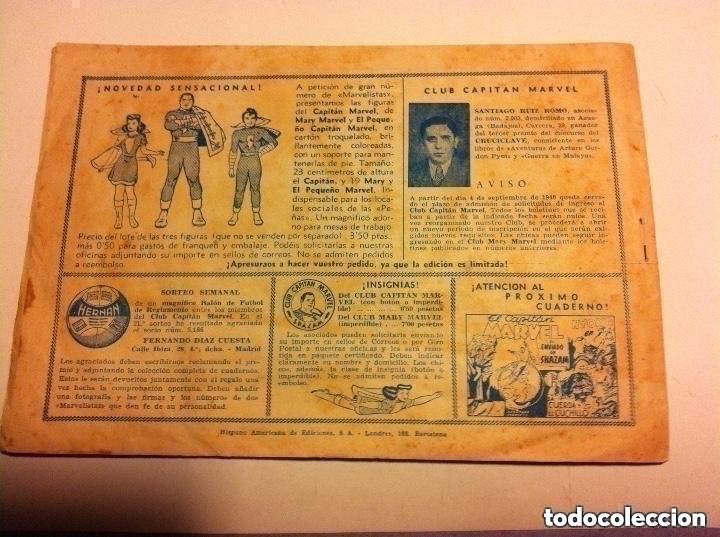 Tebeos: capitán marvel .nº 51 (teatro de aficionados) - muy bien - Foto 2 - 190933878