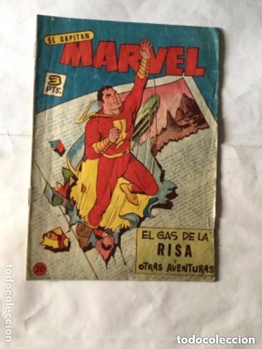 CAPITÁN MARVEL - NUM. 20- EL GAS DE LA RISA-MUY BIEN CONSERVADO (Tebeos y Comics - Hispano Americana - Capitán Marvel)