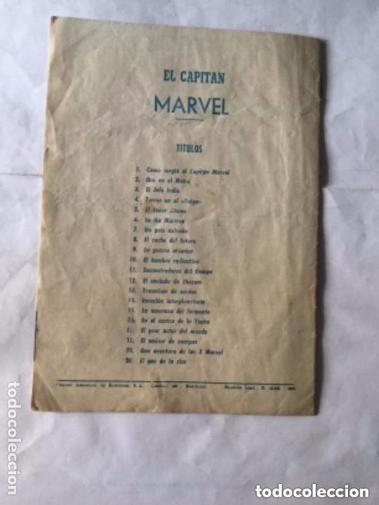 Tebeos: Capitán marvel - num. 20- el gas de la risa-muy bien conservado - Foto 2 - 190933985