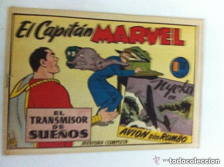 CAPITÁN MARVEL .Nº 45- MUY BIEN (EL TRANSMISOR DE SUEÑOS) (Tebeos y Comics - Hispano Americana - Capitán Marvel)
