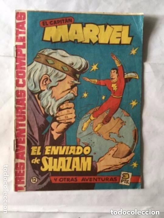 CAPITÁN MARVEL - NUM. 12- EL ENVIADO DE SHAZAM - MUY BIEN CONSERVADO (Tebeos y Comics - Hispano Americana - Capitán Marvel)