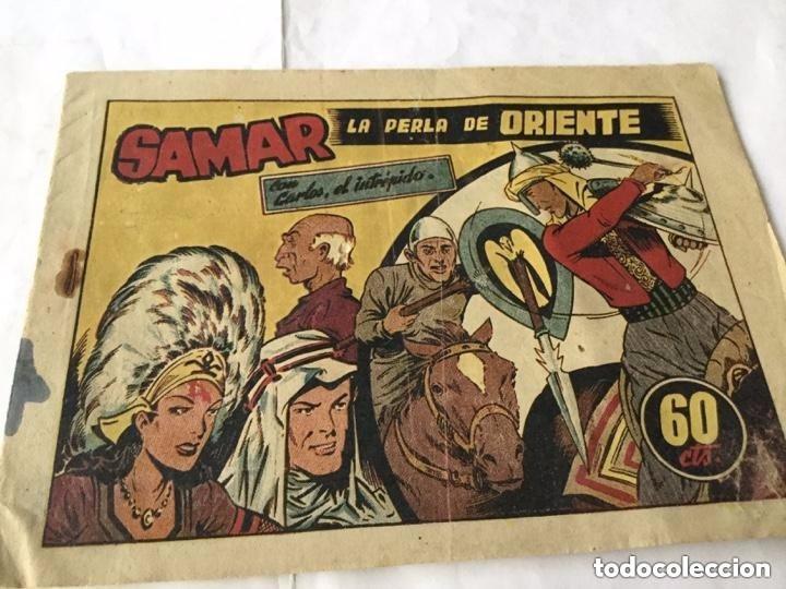 CARLOS, EL INTRÉPIDO - SAMAR, LA PERLA DE ORIENTE (Tebeos y Comics - Hispano Americana - Carlos el Intrépido)