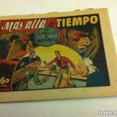 Tebeos: CARLOS EL INTRÉPIDO - MÁS ALLÁ DEL TIEMPO -0,60 PTA (BIEN. Lote 190934758