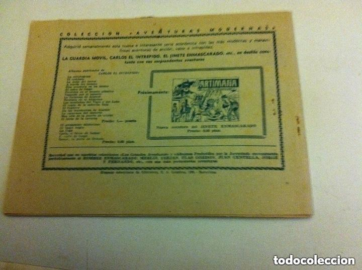 Tebeos: carlos el intrépido - más allá del tiempo -0,60 pta (bien - Foto 2 - 190934758