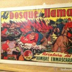 Tebeos: HOMBRE ENMASCARADO -EL BOSQUE EN LLAMAS. Lote 190936016