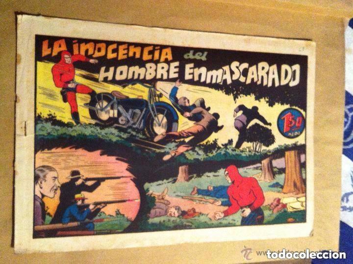HOMBRE ENMASCARADO - LA INOCENCIA DEL HOMBRE ENMASCARADO (Tebeos y Comics - Hispano Americana - Hombre Enmascarado)