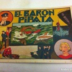 Tebeos: HOMBRE ENMASCARADO -EL BARÓN PIRATA-MUY BIEN CONSERVADO. Lote 190936300
